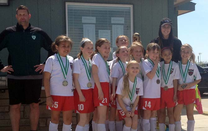 '05 Girls Team White