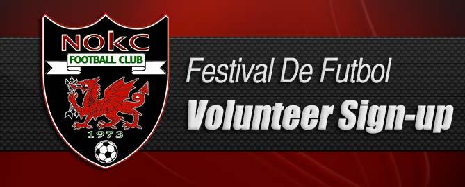 Festival De Futbol Volunteer Sign-Up