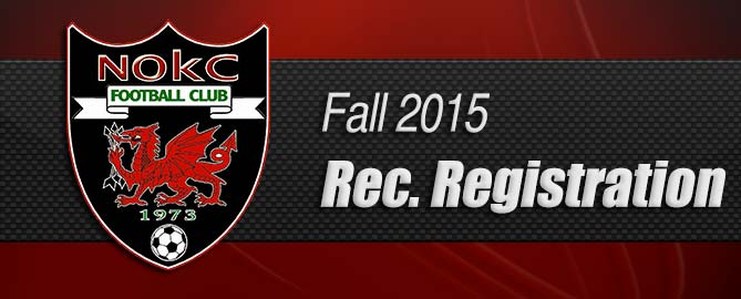 Fall 2015 Recreational Registration