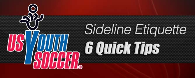 Sideline Etiquette: 6 Tips to Make Youth Soccer Better for Parents and Players