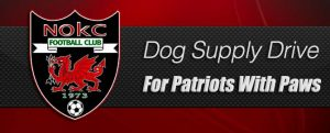 Dog Supply Drive for Patriots With Paws @ NOKC's clubhouse
